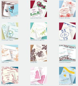Wedding stationery sets by Weddingstar