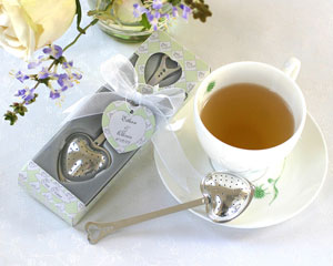 Tea Time Heart Tea Infuser in Tea-Time Gift Box