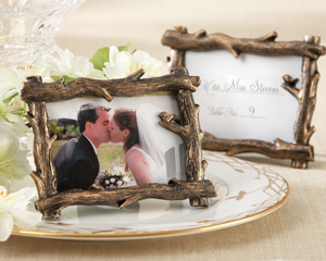 """Scenic View"" Tree-Branch Place Card/Photo Holder"