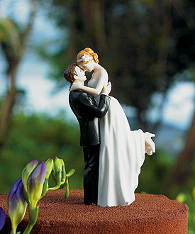 True Romance Couple Figurine - Wedding Cake Topper