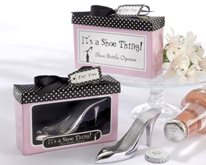 """It's a Shoe Thing!"" Shoe Bottle Opener-Stylish bridal shower favors,bridal shower ideas, bridal shower wedding favors, wedding shower favors, bridal shower gifts, bridal shower decorations, shower favors"