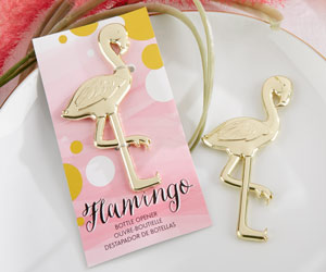 """FANCY AND FEATHERED"" FLAMINGO BOTTLE OPENER""FANCY AND FEATHERED"" FLAMINGO BOTTLE OPENER"