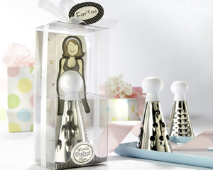 """World Gratest Mom"" Cheese Grater in Gift Box with Organza Bow"