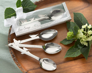 Love Songs Stainless-Steel Measuring Spoons