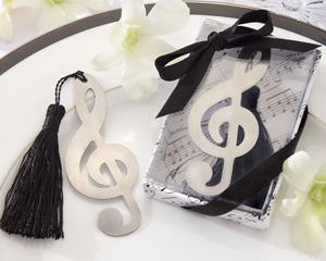 &quot;Timeless Duet&quot; Brushed-Metal Openwork Bookmark with Elegant Silk Tassel