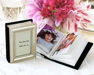 Little Book of Memories Place Card Holder/Mini Photo Album