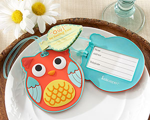 &quot;Owl&quot; Be Seeing You&quot; Owl Luggage Tag