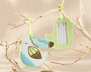 Tweet Baby Baby Bird Luggage Tag
