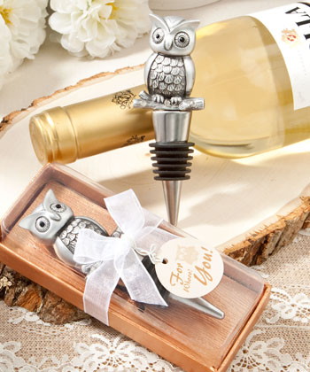Owl Design Bottle Stoppers