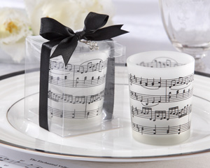 Music of the Heart Frosted-Glass Tealight Holder - Set of 4