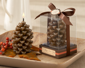 Falling for You Scented Pine Cone Candle (Set of 4)