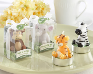 Born to be Wild Animal Candles - Set of 4 Assorted