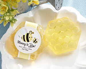 &quot;Mommy To Bee&quot; Honey-Scented Honeycomb Soap