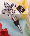 Murano Collection Fleur de lis wine bottle stopper-Murano Collection Fleur de lis wine bottle stopper