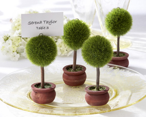 "Topiary Photo Holder/Place Card Holder (Set of 4) ""As Seen in Modern Bride Aug/Sept 2008"""
