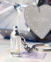Choice Crystal Collection baby bottle design key chain favors