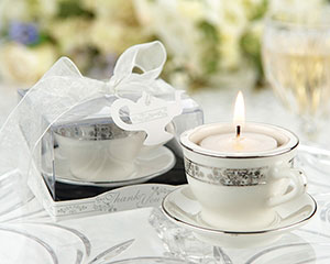 Teacups and Tealights Miniature Porcelain Tealight Holders