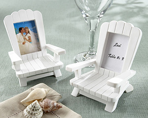 4 Beach Memories Miniature Adirondack Chair Place Cards
