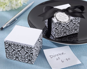 """Damask Elegance"" Note Pad"