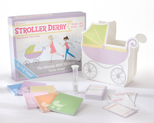 Stroller Derby Baby Shower Trivia Game