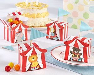 Big Top Circus Favor Box (Set of 24 Assorted)