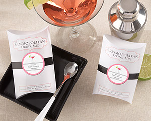 """Cosmopolitan"" Drink Mix (Set of 6) (Available Personalized)"