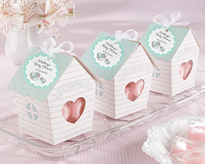 Home Tweet Home Bird House Favor Box (Set of 24) Baby