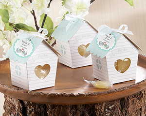 &quot;Love Nest&quot; Bird House Favor Box (Set of 24)