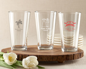 Personalized Pint Glass 16 oz.-Personalized Pint Glass 16 oz.