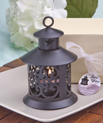 Fabulous metal lantern favor