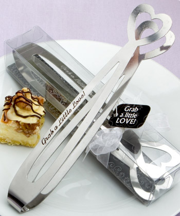 Grab a Little Love with these Pastry Ice Tongs
