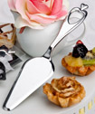 Heart design cake/pastry server favors