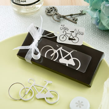 FUN BICYCLE KEY CHARM BOTTLE OPENER FROM FASHIONCRAFT
