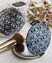 Classy Compacts Collection damask design compact favors