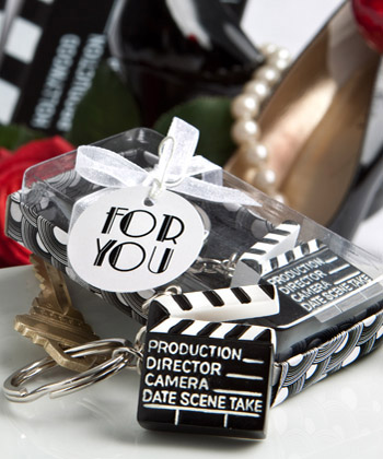 Movie Themed Key Chain Favors