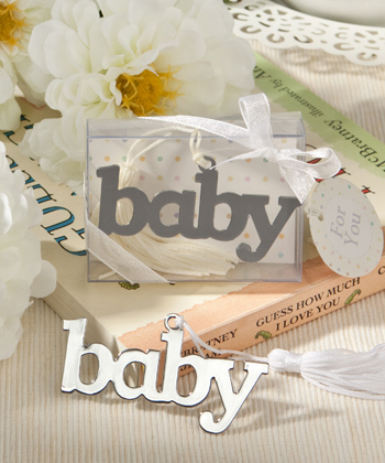 Adorable Baby Design Bookmark Favor