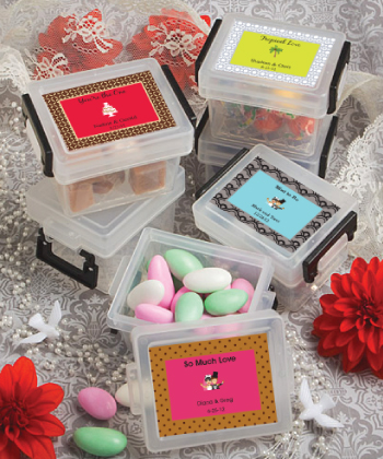 Design Your Own Collection mini container favors