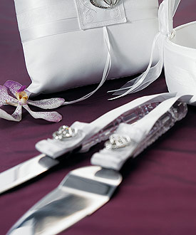 Classic Double Heart Cake Serving Set
