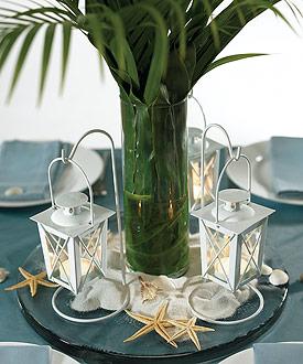 Mini Lanterns with Hanger - Set of 2