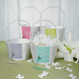 Butterfly Dreams Flower Girl Basket