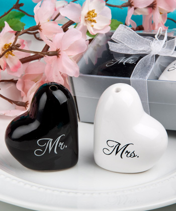 Mr. and Mrs. salt and pepper set
