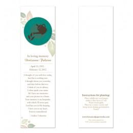 Gardener Memorial Bookmarks