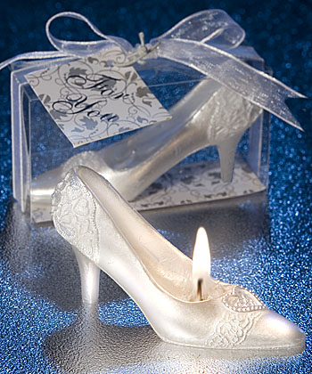 Fairytale shoe wedding favor-Fairytale shoe wedding favor