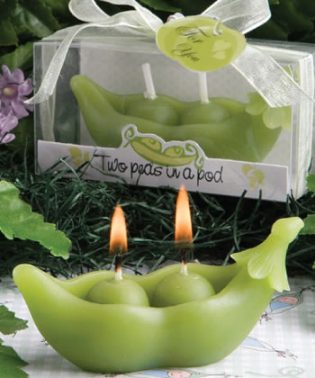 Two Peas In A Pod Collection Candles