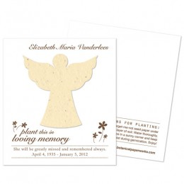 Angel Plantable Memorial Cards