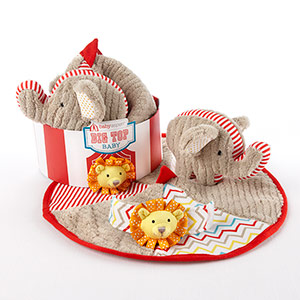 """Big Top Baby"" Three-Piece Baby Gift Set"