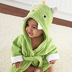 """""""My Little Monster"""" Hooded Spa Robe"""