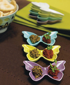 Ceramic Butterfly Dishes