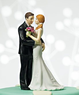 "Cheeky Couple Figurine ""My Main Squeeze"""