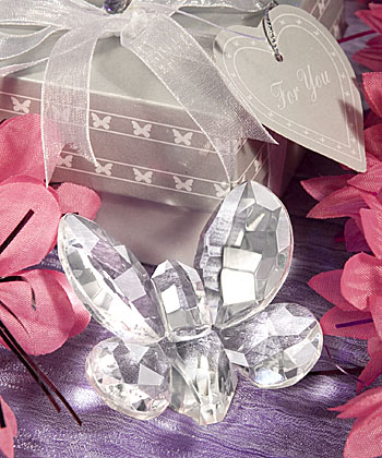 Choice Crystal Butterfly Favor
